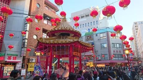 神戸の春節の写真素材 [FYI00614094]