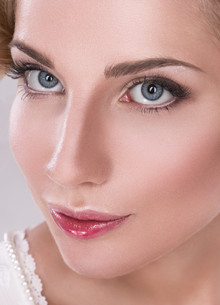 makeupの写真素材 [FYI00617937]