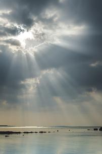 天使の梯子の写真素材 [FYI00618753]