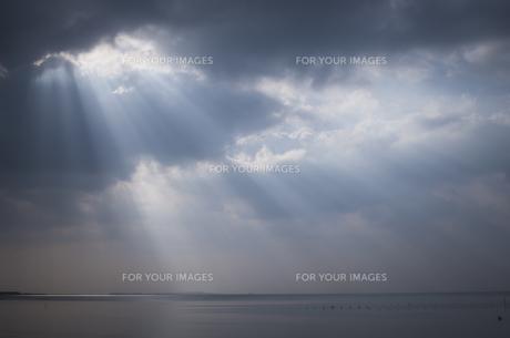 天使の梯子の写真素材 [FYI00618754]