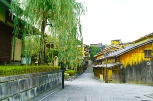 京都 三年坂の町並みの写真素材 [FYI00619018]