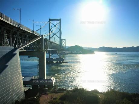 瀬戸内海の橋の写真素材 [FYI00619078]