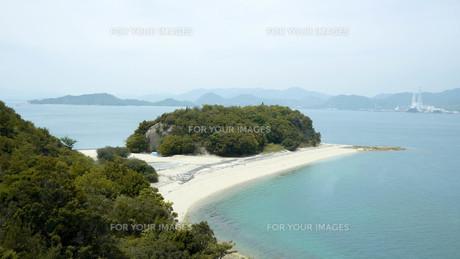 大久野島の砂浜の写真素材 [FYI00619366]