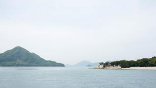 大久野島の灯台の写真素材 [FYI00619367]