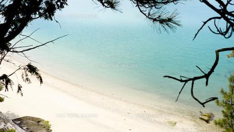 大久野島の砂浜の写真素材 [FYI00619368]