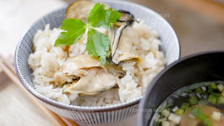 牡蠣ご飯の写真素材 [FYI00619395]