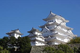 国宝姫路城の写真素材 [FYI00619436]