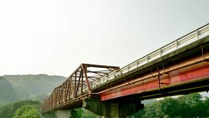 五郎の赤橋の写真素材 [FYI00619477]