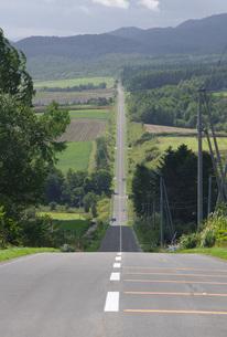 富良野・ジェットコースターの路の写真素材 [FYI00619482]