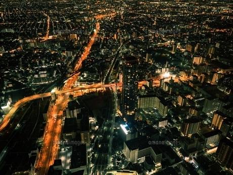 大阪夜景の写真素材 [FYI00619829]