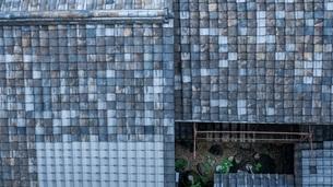 京都の瓦屋根の写真素材 [FYI00619838]