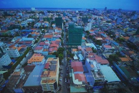 カンボジア街並みの写真素材 [FYI00620258]