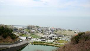 海沿いの町の写真素材 [FYI00620398]