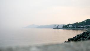 小豆島の夕暮れの写真素材 [FYI00620401]