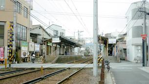 京都 一乗寺駅の写真素材 [FYI00620636]