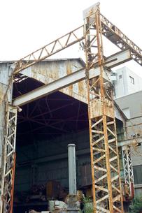 廃業された工場の写真素材 [FYI00620674]