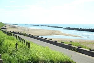 日本海の海岸の写真素材 [FYI00621422]