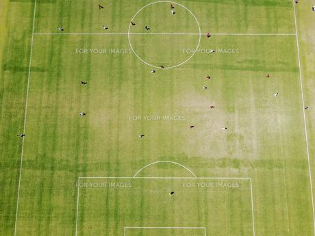 サッカーのフィールドの写真素材 [FYI00621533]