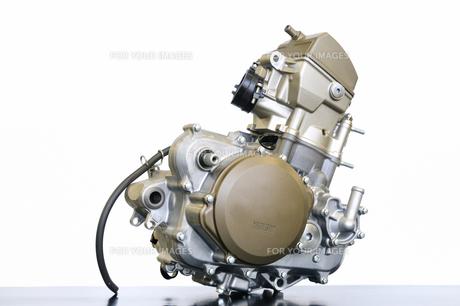 バイクエンジンの整備の写真素材 [FYI00621592]