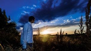 夕暮れと黄昏の写真素材 [FYI00621598]
