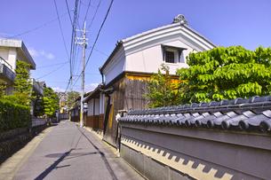 京都の古い住宅街の写真素材 [FYI00622514]