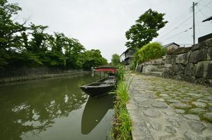 近江八幡の街並みの写真素材 [FYI00623582]