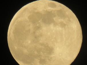 月 夜空 空 クレーターの写真素材 [FYI00624929]