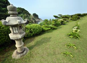 番所庭園の景色の写真素材 [FYI00625293]
