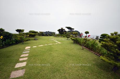 番所庭園の景色の写真素材 [FYI00625298]