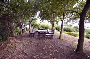 番所庭園の景色の写真素材 [FYI00625354]