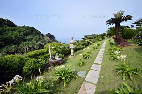 番所庭園の景色の写真素材 [FYI00625358]