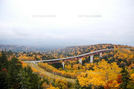 北海道・秋の三国峠の写真素材 [FYI00627213]