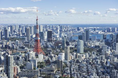 東京港区の街並みの写真素材 [FYI00627257]