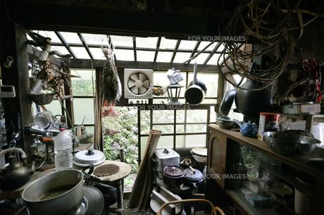 大自然の中で暮らす人の家の写真素材 [FYI00627725]