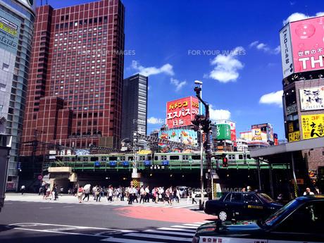 新宿散歩3の写真素材 [FYI00627817]