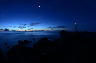 宮古島/島の夜明の写真素材 [FYI00627891]