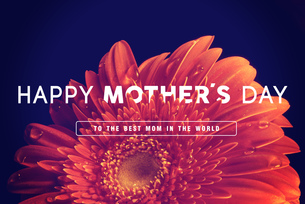 Happy Mothers day greeting cardの写真素材 [FYI00631649]