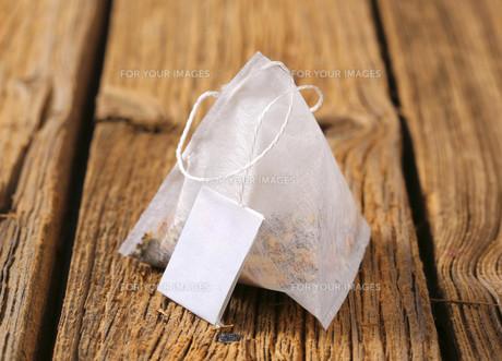 Pyramid tea bagの素材 [FYI00631953]