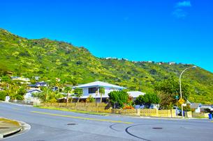 ハワイ ハワイカイの住宅地の写真素材 [FYI00632517]