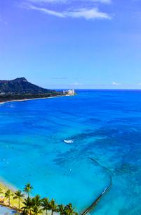 ハワイ ワイキキビーチの写真素材 [FYI00632686]