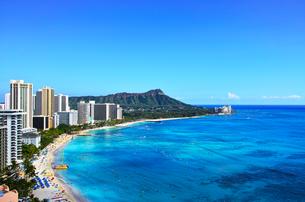 ハワイ ワイキキビーチの写真素材 [FYI00632687]