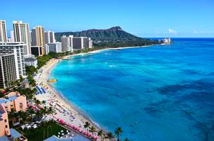 ハワイ ワイキキビーチの写真素材 [FYI00632690]