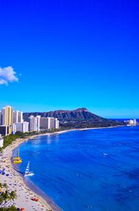ハワイ ワイキキビーチの写真素材 [FYI00632691]