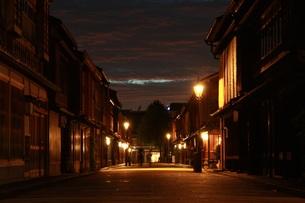 小京都の夜の写真素材 [FYI00632941]
