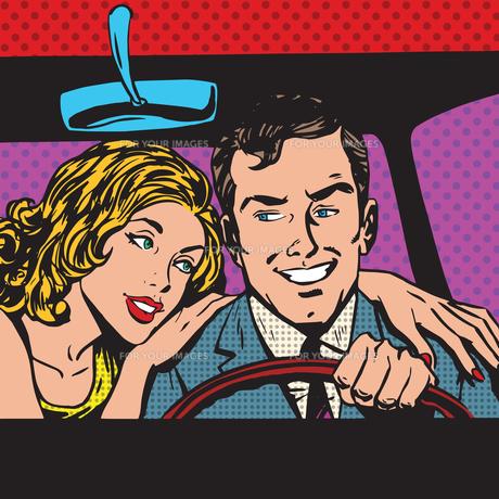 pop art comics retro style Halftoneの写真素材 [FYI00634280]