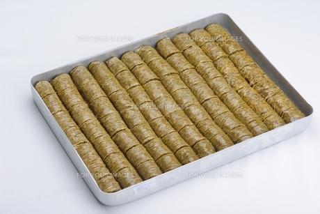 Turkish pastry kadaifの写真素材 [FYI00634603]