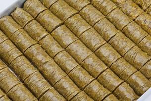 Turkish pastry kadaifの写真素材 [FYI00634608]