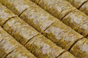 Turkish pastry kadaifの写真素材 [FYI00634613]