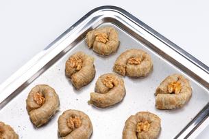 Turkish pastry kadaifの写真素材 [FYI00634624]