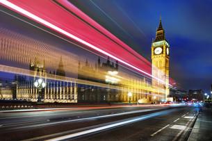 London spirit by nightの写真素材 [FYI00634641]